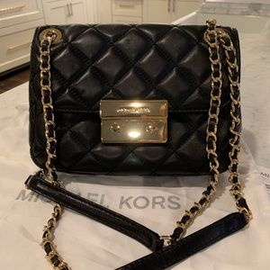 Michael Kors Sloan Small Quilted Leather Bag